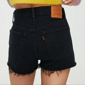 Levi's 501 High Rise Denim Shorts